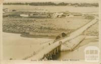 North Arm Bridge showing Lakes Entrance