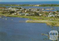 Panorama of Lakes Entrance