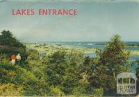 Looking towards Lakes Entrance from Jemmy's Point, 1955