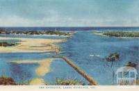 The entrance, Lakes Entrance, 1965