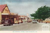The shopping centre, Lakes Entrance, 1965
