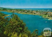 Panoramic view, Lakes Entrance