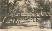 Bridge, Yarra Doon, 1906