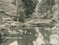 Swimming Pool, Loch, 1951