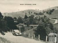 Road Entering Loch, 1951