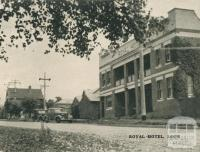 Royal Hotel, Loch, 1951