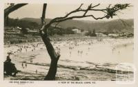 A view of the beach, Lorne