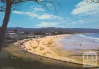 The surf beach at Lorne, 1983