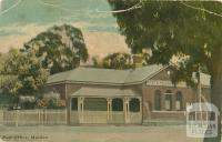 Post Office, Maldon, 1907