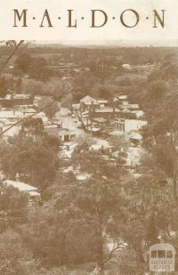 Township from Anzac Hill, Maldon