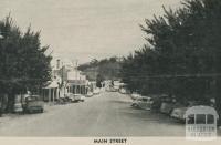 Main Street, Maldon, 1959