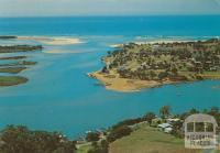 Aerial view of township, Mallacoota