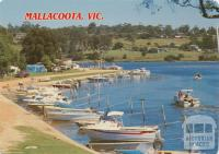 The Foreshore Camp Park at Mallacoota, 1989