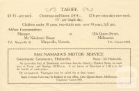 Mount Kitchener House, Marysville, c1925, page 4