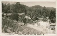 Swimming Pool and Tennis Court, Chalet, Marysville, 1948