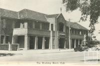The Working Men's Club, Mildura