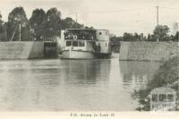 PS Avoca in Lock II, Mildura