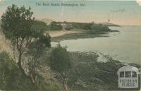 The Back Beach, Mornington, 1908