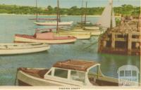 Fishing craft, Mornington, 1951