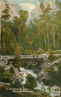At the foot of the Gorge, Mount Buffalo
