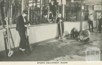 Sports Equipment Room, Mount Buffalo, 1953
