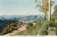 Mackeys Lookout (3600) looking towards Mount Bogong, Mount Buffalo, 1958