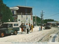 The Bottom Station Chair-lift and Bus Terminal, Mount Buller, 1974