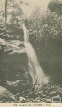 The Falls, Mount Macedon, 1949