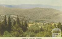 Panorama from Mount Macedon, 1955