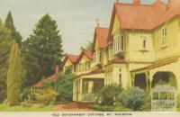Old Government Cottage, Mount Macedon, 1955