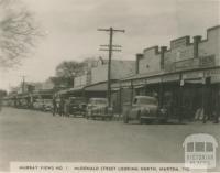 McDonald Street, looking north, Murtoa