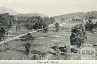 View at Myrtleford
