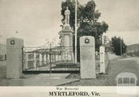 War Memorial, Myrtleford