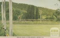 Bowling Green, Victoria Bridge and Reform Hill, Myrtleford, 1953