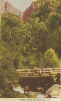Eurobin Falls, Mount Buffalo, 1953