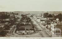Bird's Eye View of High Street, Nagambie