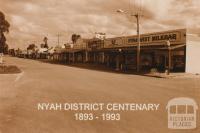 Nyah District Centenary, 1893-1993