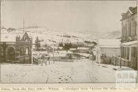 Omeo from the Post Office -Winter