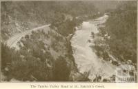 The Tambo Valley Road at St Patrick's Creek, Omeo
