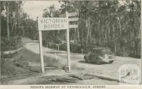 Prince's Highway at Victorian-NSW Border, 1947