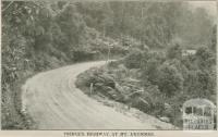 Prince's Highway at Mt Drummer, 1947