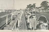 Harbour for Fishing Fleet, Port Albert