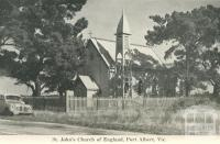 St John's Church of England, Port Albert