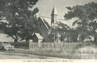 St John's Church of England, Port Albert