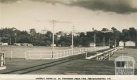 Township from Pier, Portarlington, 1957