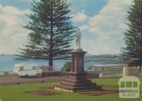 The Soldier's Memorial and Harbour, Portland