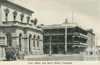 Post Office and Mac's Hotel, Portland, 1948