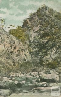 Werribee Gorge, Bacchus Marsh, 1908