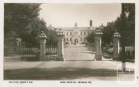 Base Hospital, Bendigo, 1940