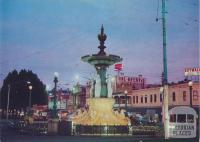The Alexandra Fountain at Sunset, Bendigo